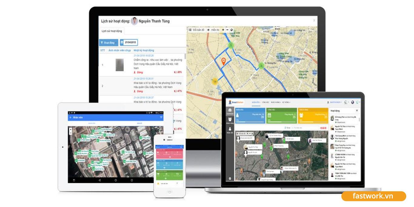 Áp dụng FastWork vào quản lý công việc