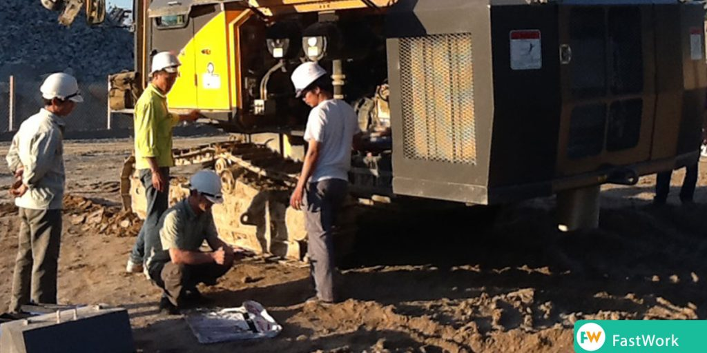 MATEC ứng dụng FastWork quản lý nhân viên xây dựng