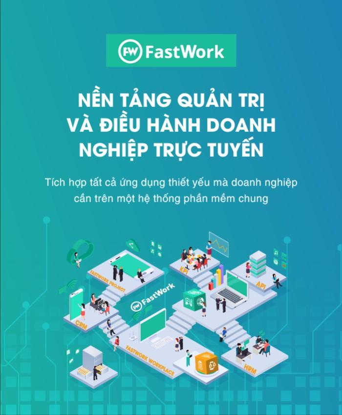 Phần mềm quản trị và điều hành doanh nghiệp FastWork