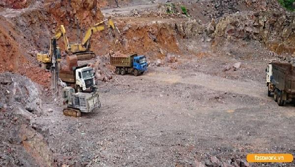 Đơn vị khai thác mỏ Thịnh Cường quản lý thời gian làm việc của đội ngũ nhân viên tại công trường Núi Pháo Thái Nguyên hiệu quả bằng phần mềm FastWork