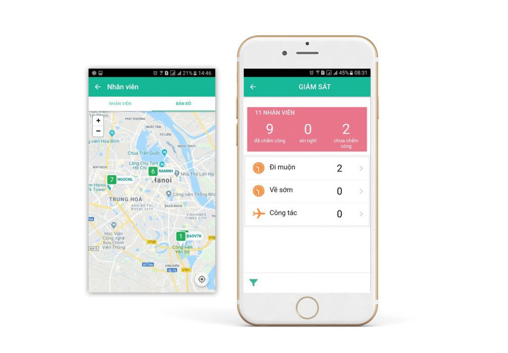 Phú Hưng Thịnh quản lý đội ngũ Sale bằng phần mềm FastWork