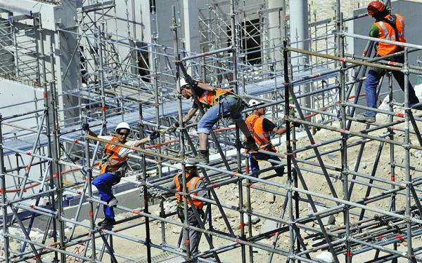 Nhu cầu về lao động xây dựng được dự kiến tăng đáng kể