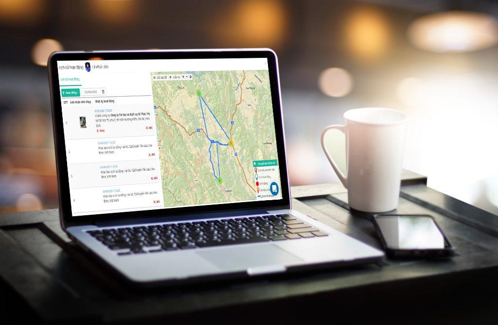 Phần mềm quản lý nhân viên hiện trường