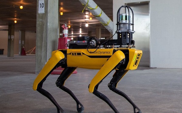 Robot xây dựng đã được nghiên cứu và ứng dụng tại công trường
