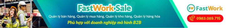 phần mềm quản lý bán hàng b2b fastwork sale