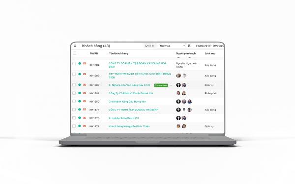 FastSales hộ trợ tính năng tự động ghi công nợ khi có phát sinh giao dịch mua bán