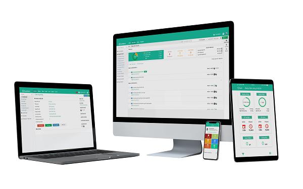 Các công cụ trong giải pháp phần mềm được thiết kế nhằm hỗ trợ tối đa cho doanh nghiệp