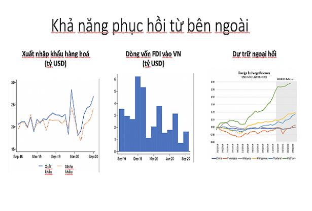 Các chuyên gia tài chính kinh tế đánh giá khả năng phục hôi của Việt Nam