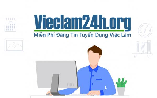 Vieclam24h - một trong các trang Web tìm việc part time uy tín nhất trên thị trường việc làm năm 2021