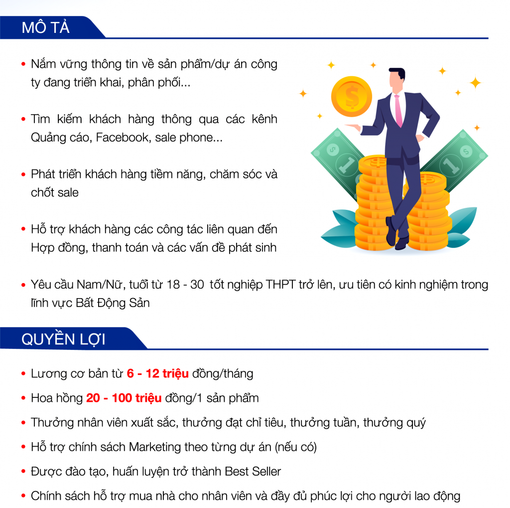 Hãy đặt một con số cụ thể về mức lương vị trí tuyển dụng
