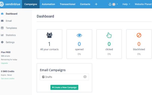Phần mềm Email Marketing Sendinblue