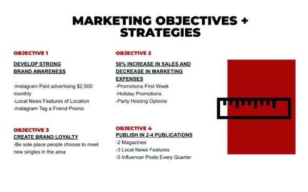 Xác định mục tiêu tiếp thị - Yếu tố quan trọng trong bản kế hoạch marketing mẫu