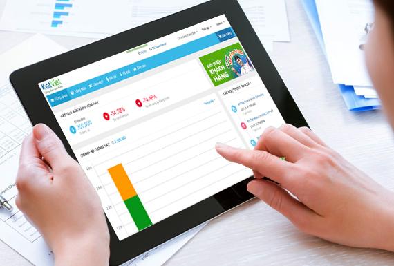 Phần mềm quản lý bán hàng Kiotviet phù hợp cho doanh nghiệp vừa và nhỏ