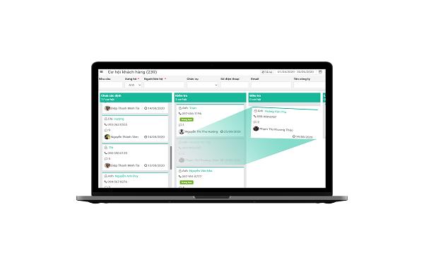 Phần mềm quản lý quy trình, công việc Fastwork sử dụng Kanban Board