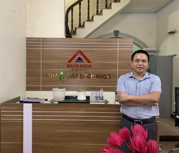 Anh Nguyễn Đồng Tiến - CEO Thang máy Bách Khoa