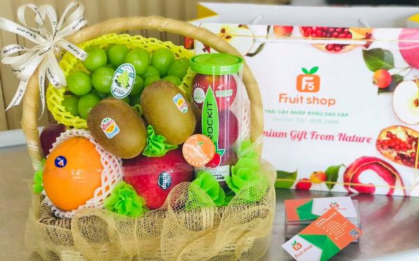 F5 Fruit Shop sở hữu chuỗi 16 cửa hàng trái cây nhập khẩu cao cấp trên toàn quốc