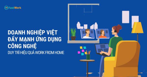 Doanh nghiệp Việt đẩy mạnh ứng dụng công nghệ