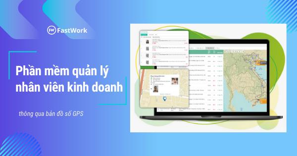 Phần mềm quản lý nhân viên kinh doanh FastWork