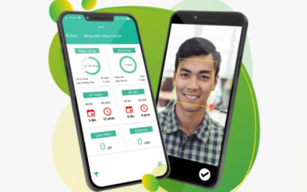 Chấm công nhanh trên App di động đảm bảo tính chính xác - tức thời